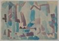 o. T., o. J., Aquarell auf Papier, 30 x 42 cm