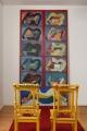 Hommage à Juryfree (Hommage à Juryfreie), 1965, oil on canvas, 304 × 145 cm