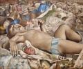 Ein Platz an der Sonne, 1973, Öl auf Hartfaser, 65 x 79,5 cm