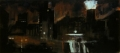 New York nachts, 1986, Mischtechnik auf Leinwand, 200 x 450 cm