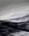 Gletscher, 2004, Acryl auf Leinwand, 100 x 80 cm