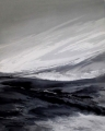 Glacier (Gletscher), 2004, acrylic on canvas, 100 x 80 cm
