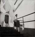 Wäscheleine, 1940, s/w-Fotografie, 40 x 40 cm