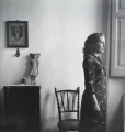 Girl in Procida, 1940, black and white print, 40 x 40 cm