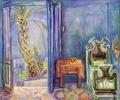o.T., o.J., Öl auf Hartfaser, 52 x 62 cm