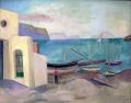 Sant'Angelo, 1940er Jahre, Öl auf Leinwand, 41 x 51 cm