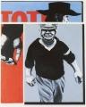 Töte Django (Ordner II), 1970, Öl auf Leinwand, 110 x 90 cm