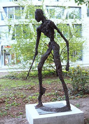 Berliner Bildhauer auf dem Garnisonkirchplatz