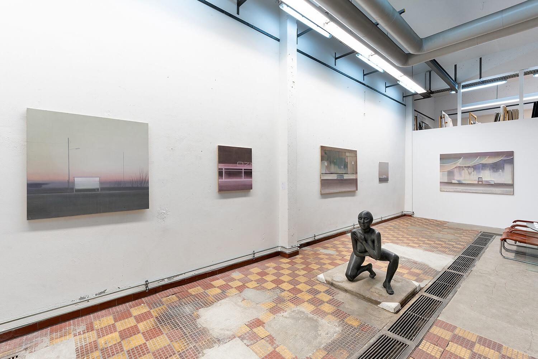 01 Eric Keller. Malerei, Schaulager, 2021, Foto: dotgain.info