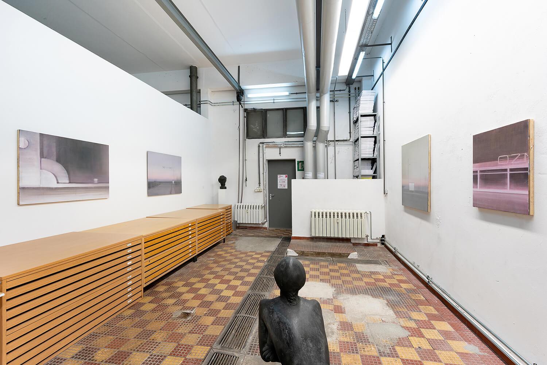 02 Eric Keller. Malerei, Schaulager, 2021, Foto: dotgain.info