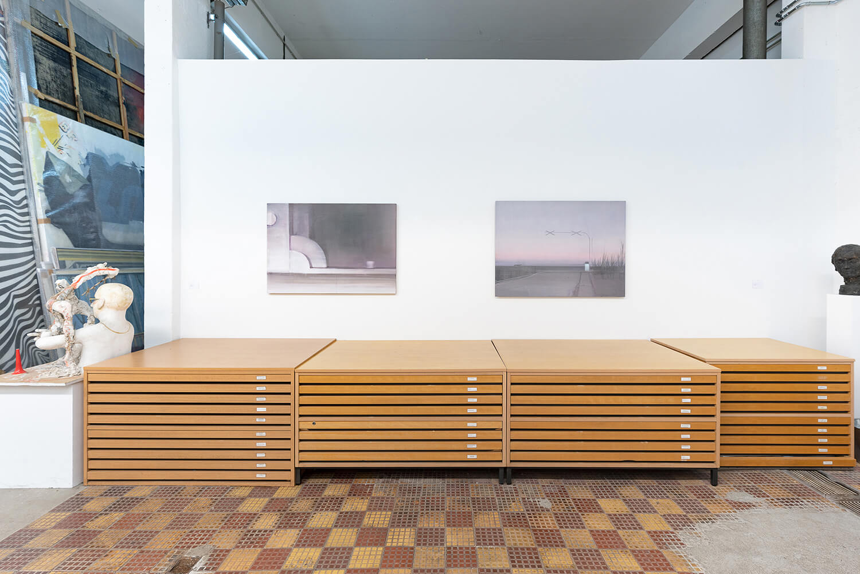 04 Eric Keller. Malerei, Schaulager, 2021, Foto: dotgain.info