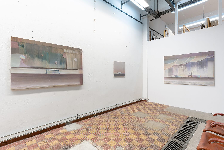 05 Eric Keller. Malerei, Schaulager, 2021, Foto: dotgain.info