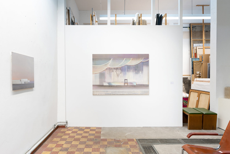 06 Eric Keller. Malerei, Schaulager, 2021, Foto: dotgain.info