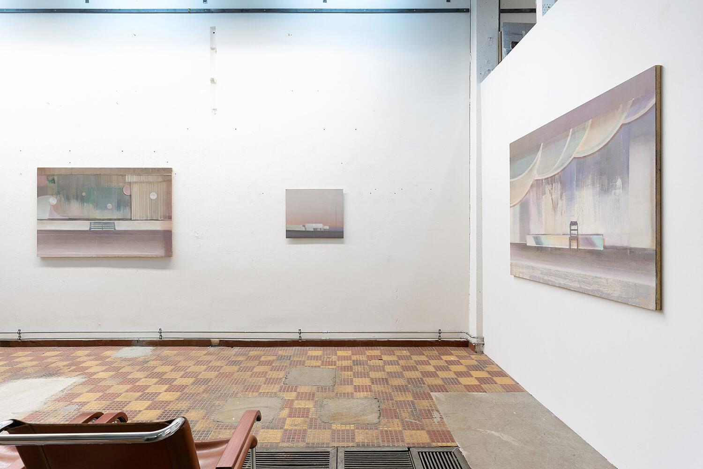 07 Eric Keller. Malerei, Schaulager, 2021, Foto: dotgain.info
