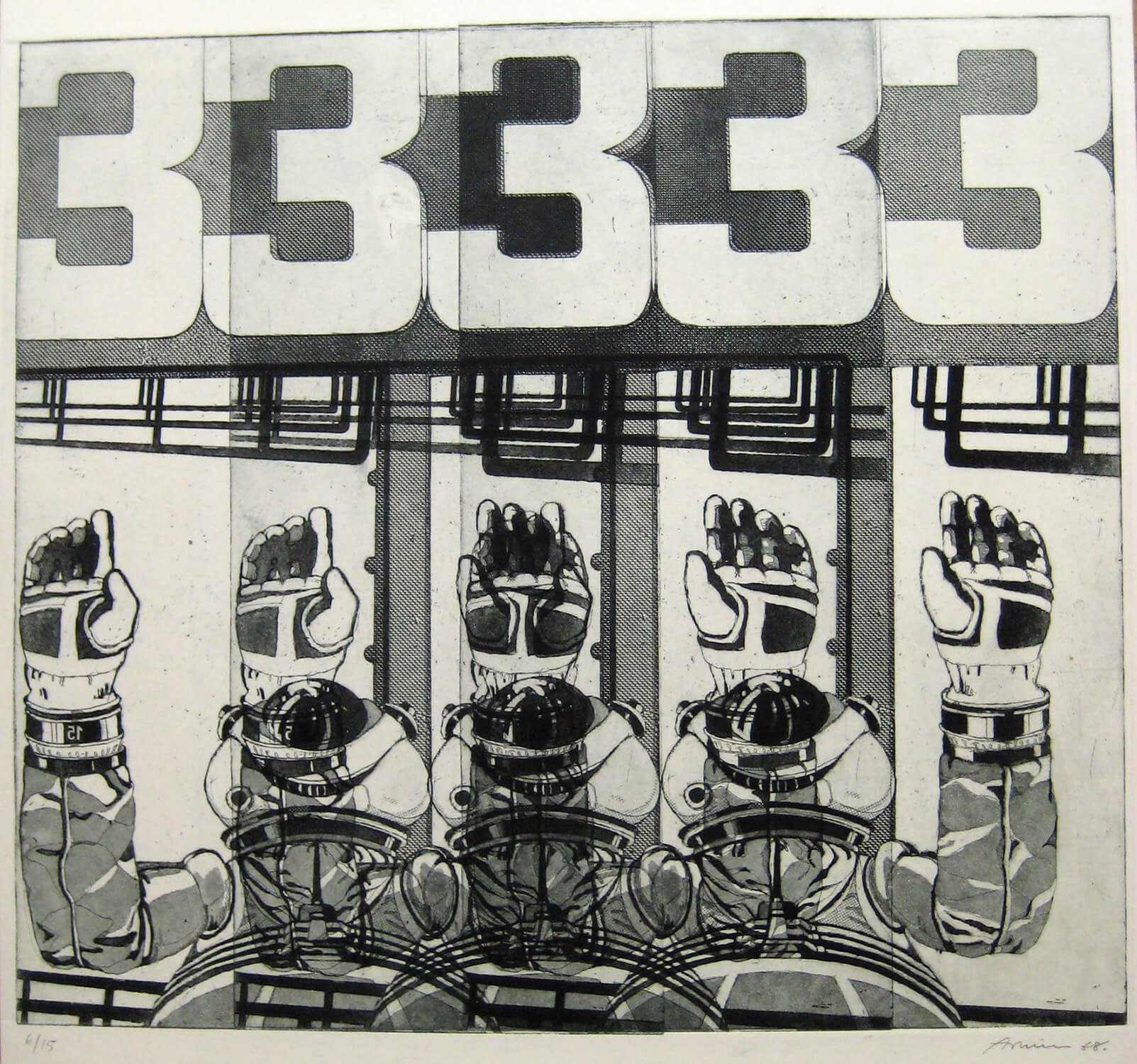 Arnim_Edition Hake three_1968