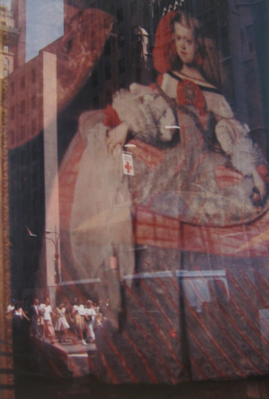 Gundula Schulze Eldowy, Infantin auf der Straße, 1991, C-Print, 93 x 63 cm
