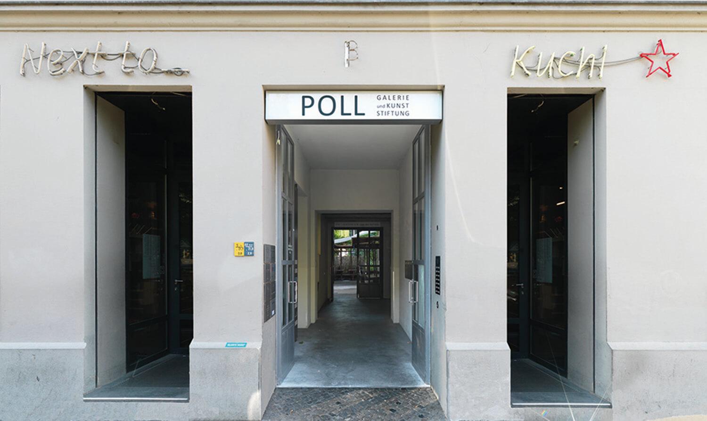 Eingang zur Galerie Poll, Foto: Richard Thieler