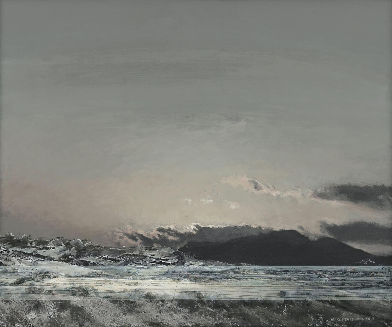 Heike Negenborn, Skyscape 11, 2013, Acryl auf Leinwand, 105 x 125 cm