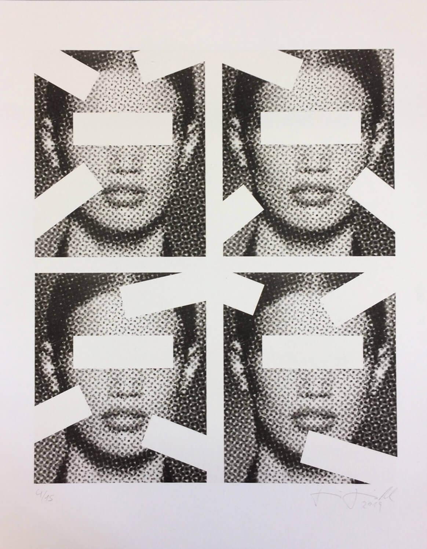 Jenö Gindl, Oracle #3, 2019, Pigmentdruck auf Langfaserpapier, kaschiert auf Leinwand, 135 x 110 cm