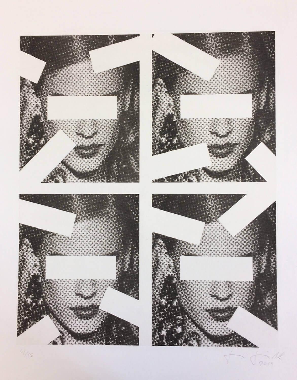 Jenö Gindl, Oracle #5, 2019, Pigmentdruck auf Langfaserpapier, kaschiert auf Leinwand, 135 x 110 cm