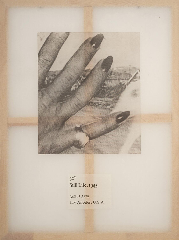 Jenö Gindl, Still Life #32, 2018, Kallitypie auf Japanpapier auf Keilrahmen, 120 x 90 cm, aus der Serie: Americans