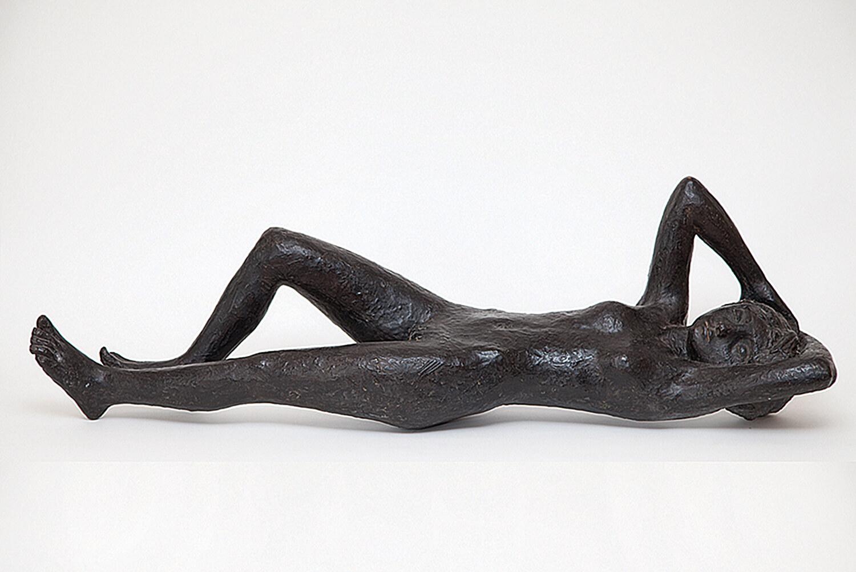 Genni / Jenny Wiegmann-Mucchi, Le ciel est triste et beau, 1935, Bronze, 2. Nachguss, ca. 36 x 26 x 118 cm