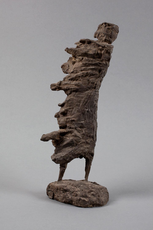 Genni / Jenny Wiegmann-Mucchi, Der Orkan, 1965-66, Bronze, Höhe 39 cm