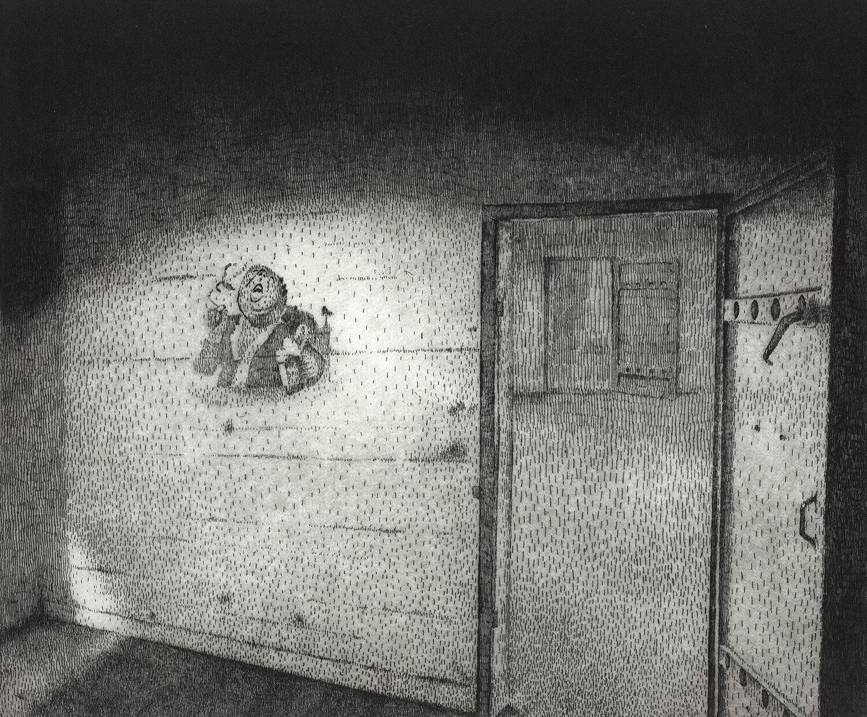 ORLANDO, Freiheit III, 2014, Radierung, 24,5 x 30 cm