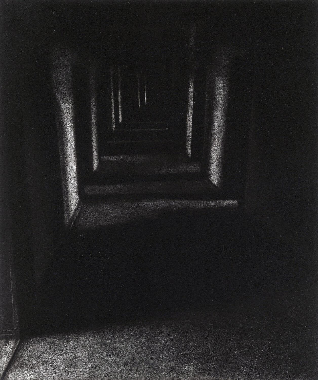ORLANDO, Freiheit IV, 2014, Radierung (Mezzotinto), 25 x 21 cm