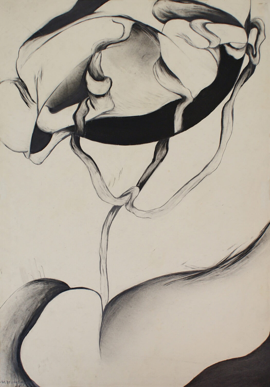 Maina-Miriam Munsky, o. T. (III), 1968, Bleistift auf Papier, 60,8 x 43 cm