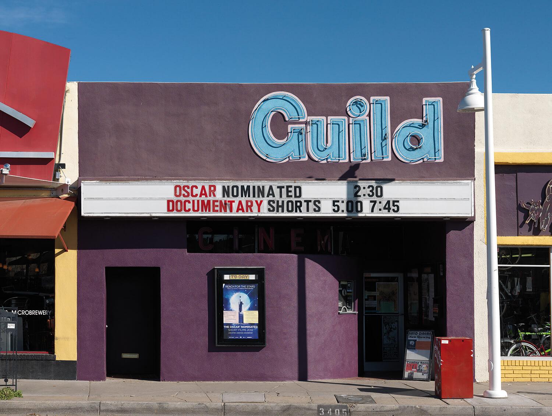Richard Thieler, Guild Cinema, Albuquerque, USA, 2012, C-Print, Auflage: 3, 30 x 40 cm