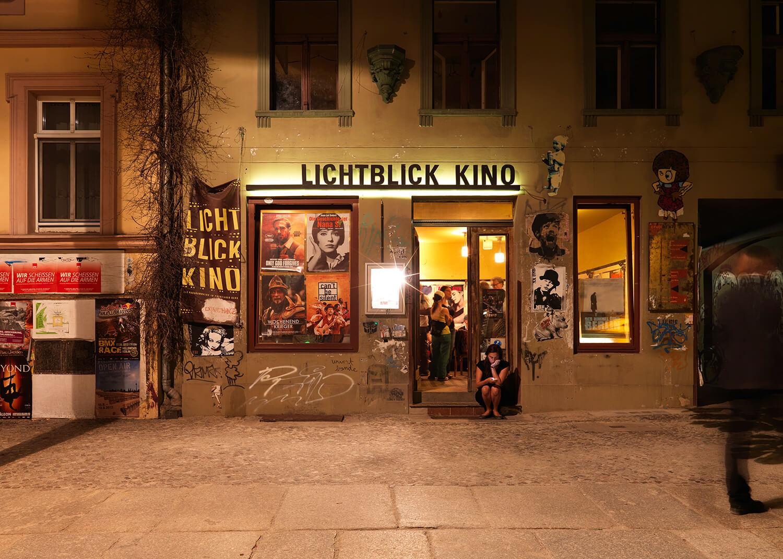 Richard Thieler, Lichtblick Kino, Berlin, 2013, Backlite-Folie in Halbe LED-Rahmen, Auflage: 3, 86,4 x 121,4 cm