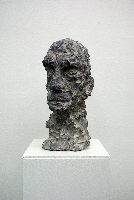 Sabina Grzimek, Arno Mohr, 1999/ 2019, Bronze, 35,5 x 15 x 22 cm