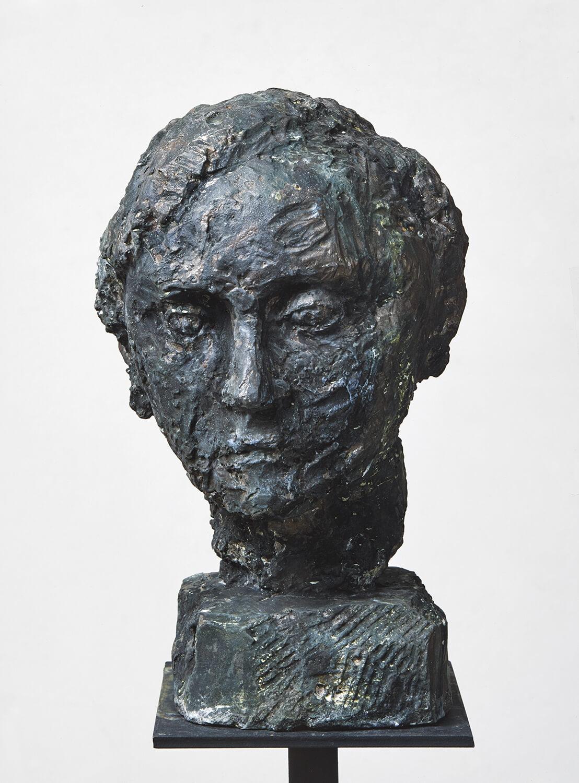 Sabina Grzimek, Emma, 1983, Bronze, Höhe 40,5 cm