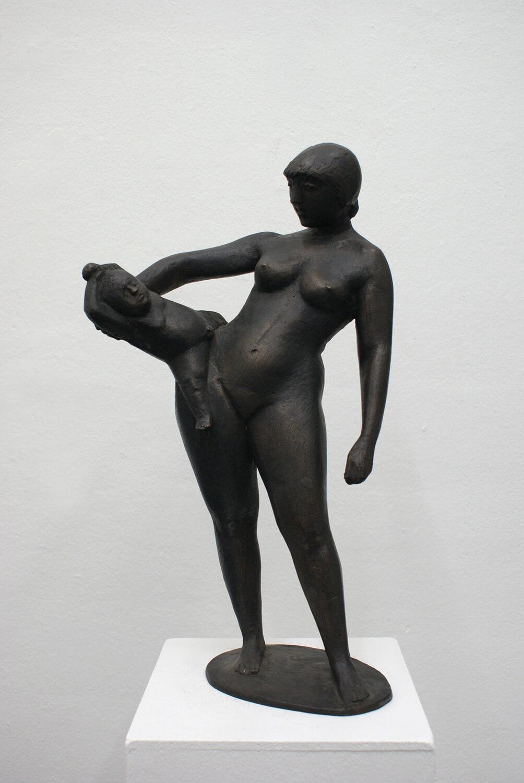 Waldemar Grzimek, Geschwister I, 1957, Bronze, 51 cm