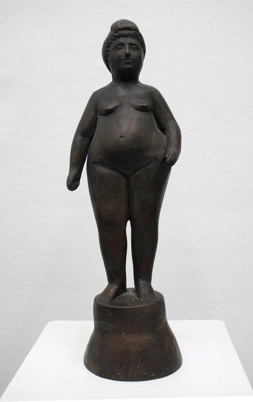 Waldemar Grzimek, Kokette, 1. Zustand, 1950, Bronze, Höhe 32 cm